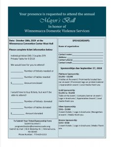 Mayor's Ball @ Winnemucca Convention Center West Hall