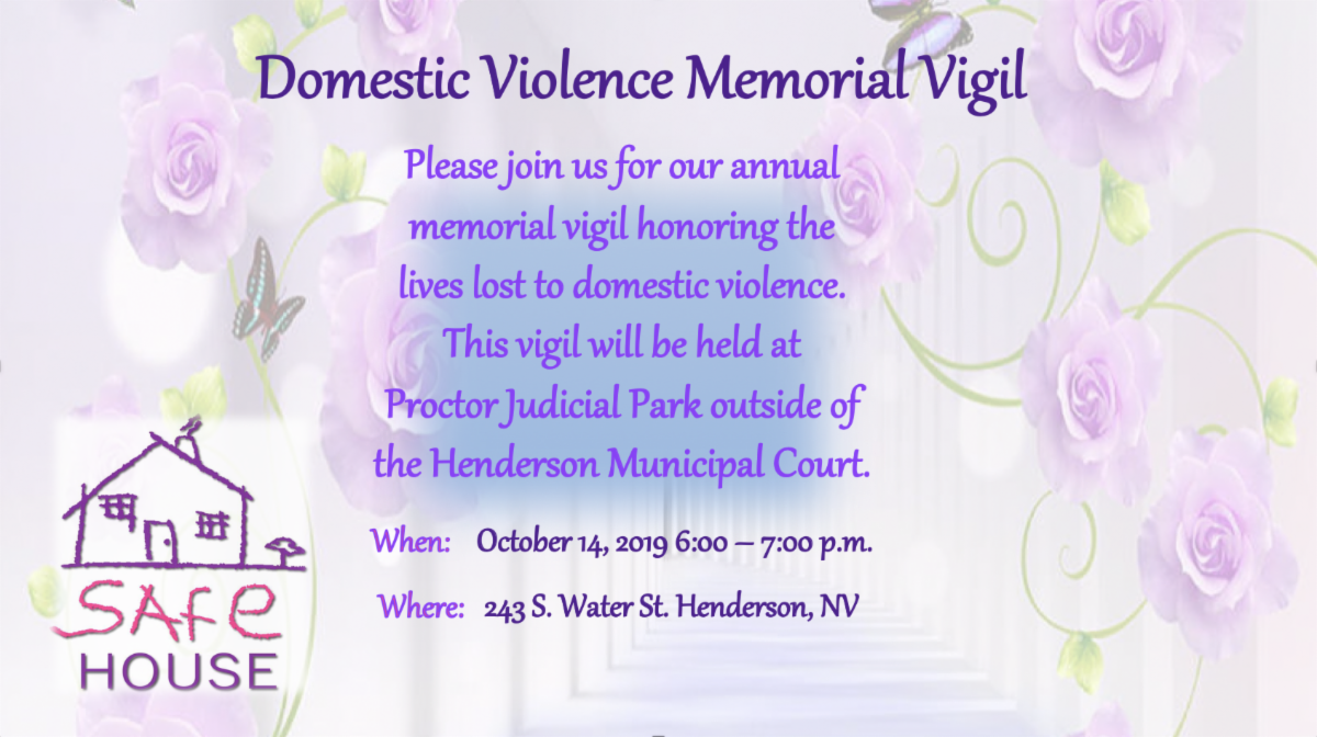 Domestic Violence Memorial Vigil